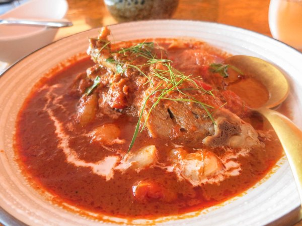 Red Curry of Braised Duck Leg