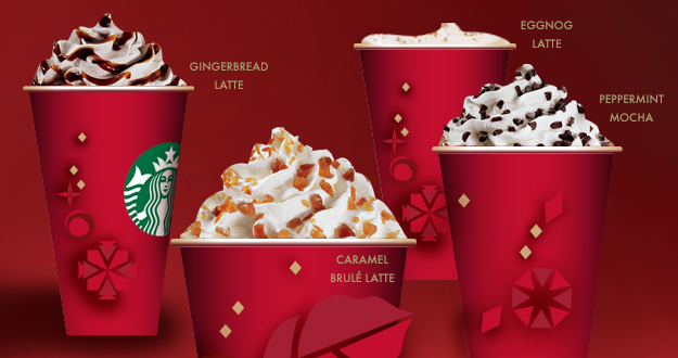 Starbucks Holiday Drinks are Back