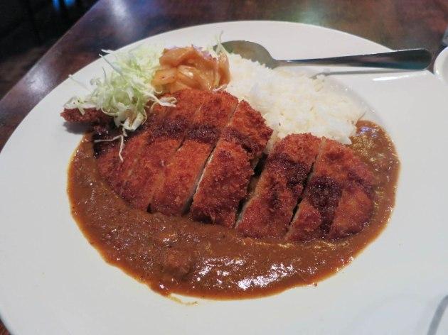 Beef Tendon Curry Pork Katsu