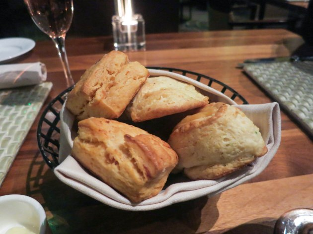 Smoked Salmon and Cheddar and Chive Scones