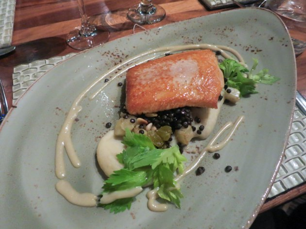 ROASTED ARTIC CHAR