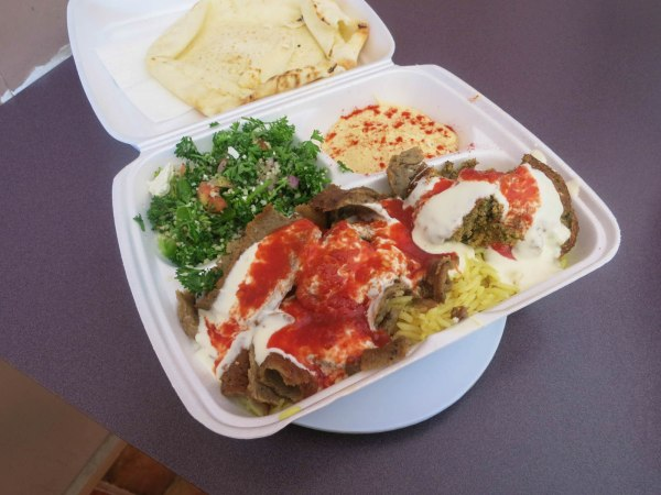Lamb and Falafel Plate