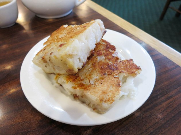 Pan Fried Radish Cake