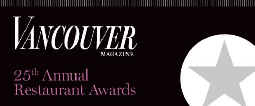 Vancouver Magazine Restaurant Awards