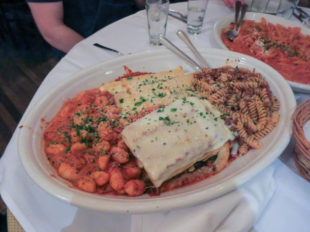 Four Pasta Platter