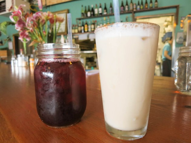 Horchata and Hibiscus Drink