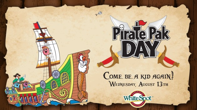 WHITE SPOT - Ahoy me hearties! Pirate Pak Day