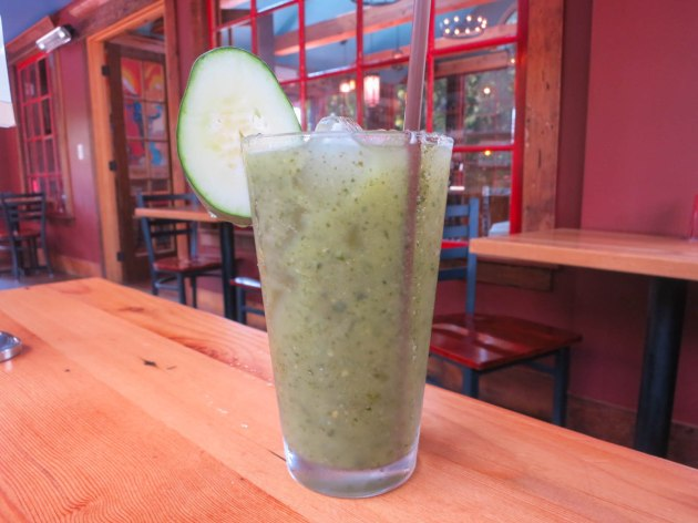 Lime, Mint, and Cucumber Aqua Fresca