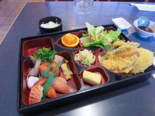 Sushi and Sashimi Bento