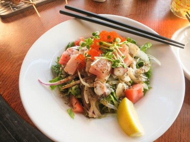 VANEATS Sashimi Salad