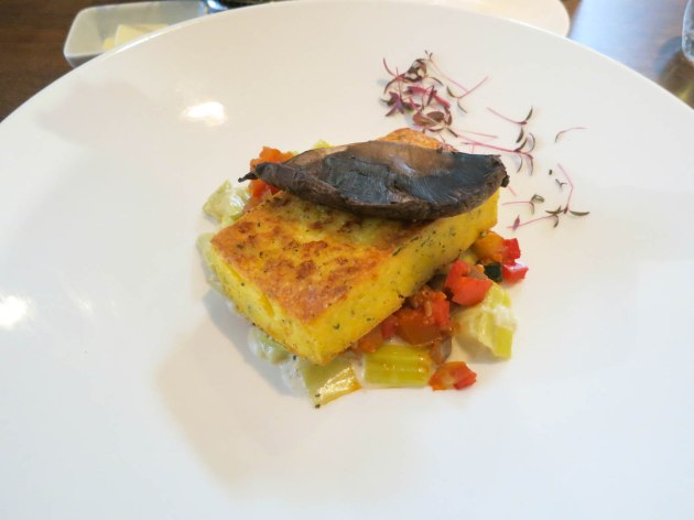 Pan-Seared Truffle Polenta