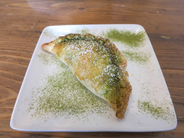 Matcha Mochi Pie