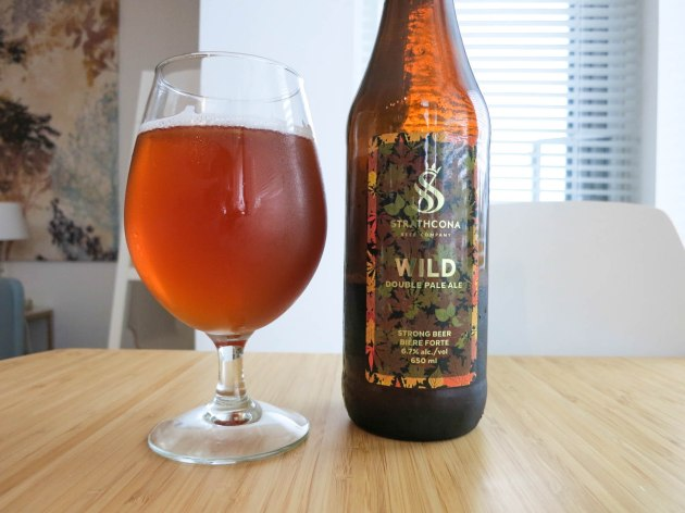 Strathcona Beer Company Wild Double Pale Ale